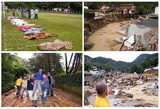 January 2011 Rio de Janeiro floods and mudslides - Image: Enchentes Rio 2011