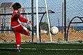 Enfant jouant au football, Sayada 2016.jpg