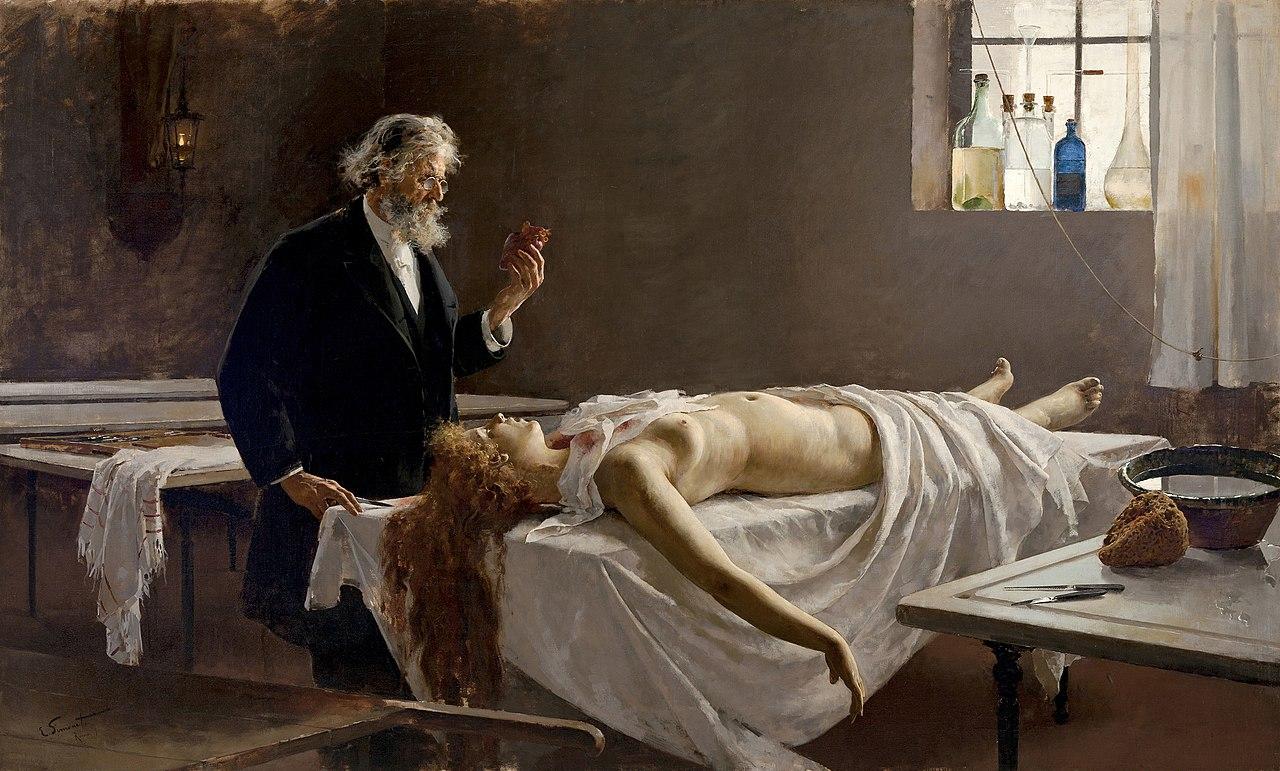 Autopsie (1890) Enrique Simonet