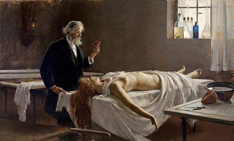 https://upload.wikimedia.org/wikipedia/commons/thumb/1/12/Enrique_Simonet_-_La_autopsia_1890.jpg/800px-Enrique_Simonet_-_La_autopsia_1890.jpg
