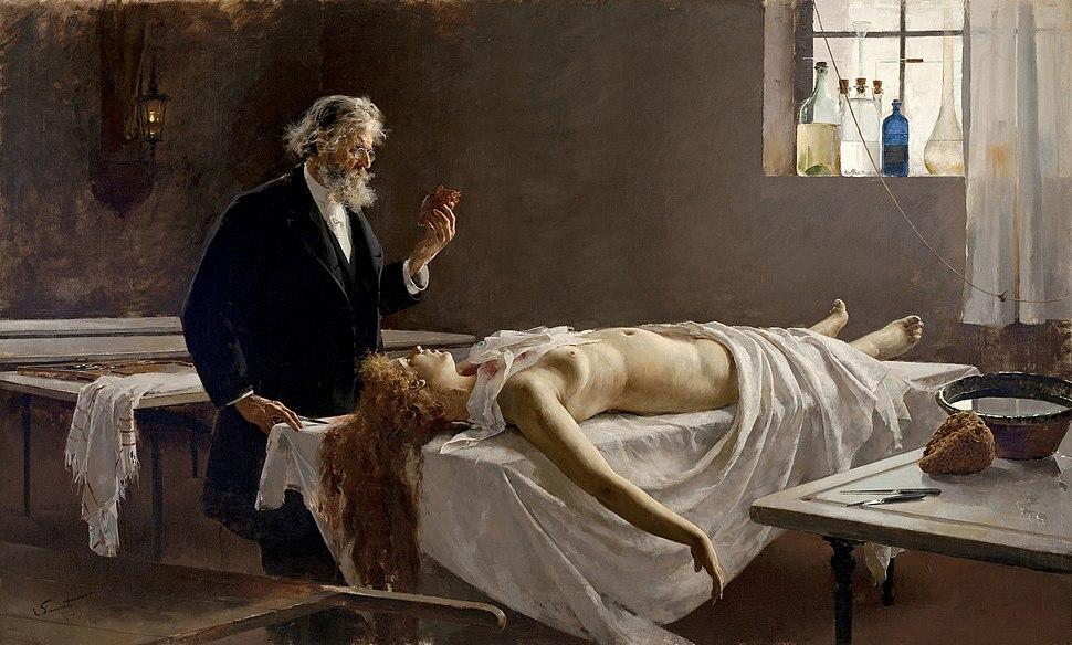 Enrique Simonet - La autopsia 1890
