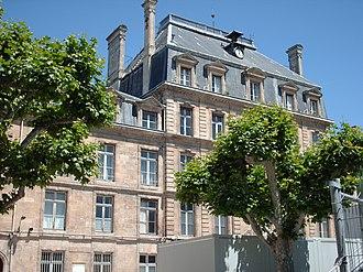 Lycée Montaigne (Bordeaux) - Entrance