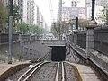 Entrada al túnel del subte A en Primera Junta.jpg