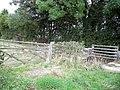 Entrance gates near Church House - geograph.org.uk - 1512316.jpg