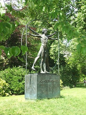 Belgrave Square - Homage to Leonardo