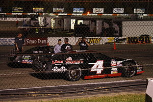 Erik Jones - Jones' 2010 ASA North Late Model that he won with at the La Crosse
