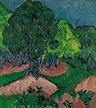 Ernst Ludwig Kirchner - Paisaje con castaño.jpg