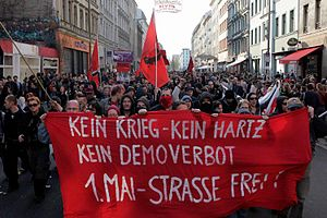 "Ultra-leftism - A ""Revolutionary 1st May Demonstration"" by far-left groups in Berlin"