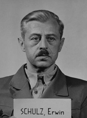 Erwin Schulz - Erwin Schulz at the ''Einsatzgruppen'' Trial