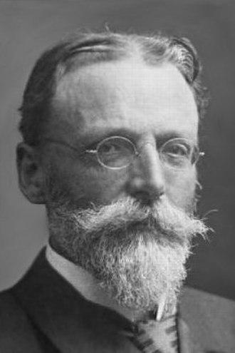 Theodor Escherich - Theodor Escherich, around 1900