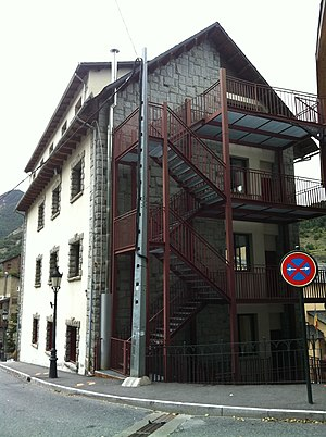 Education in Andorra - A school in Massana