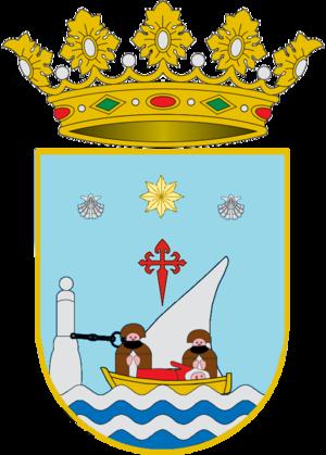 Padrón - Image: Escudo de Padrón (oficial)