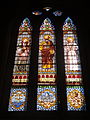 Església de Sant Pere de les Puel·les - vitrall interior 01.JPG
