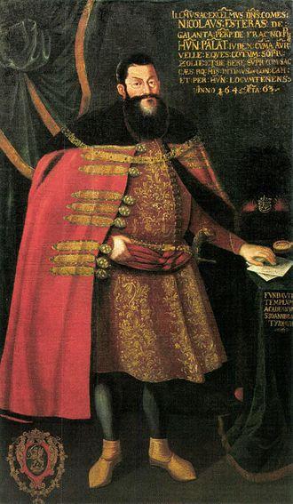 Nobility - Hungarian count Nicholaus Eszterházy of Galántha (1583–1645)