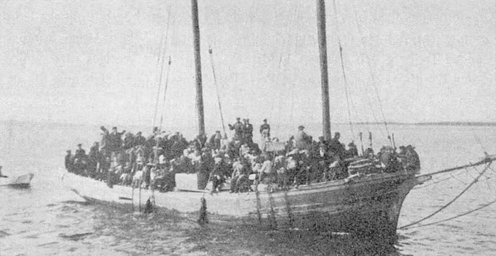 Estlandssvenska flyktingar