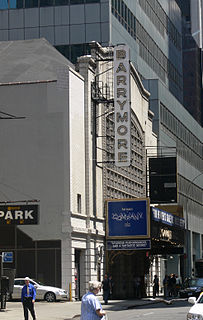 Ethel Barrymore Theatre Broadway theater in Midtown Manhattan, New York City, United States