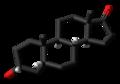 Etiocholanolone 3D skeletal.png