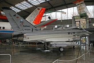Eurofighter Typhoon variants - DA1 in 2013