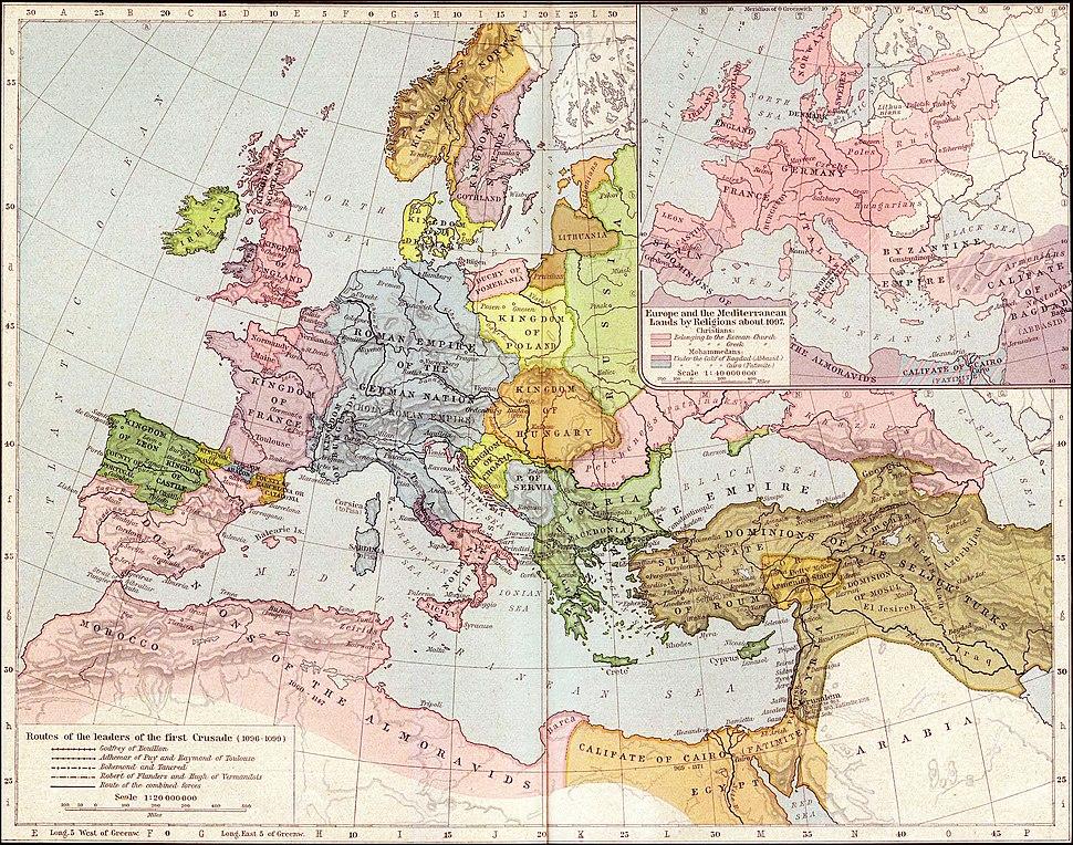 Europe mediterranean 1097