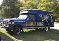 Ex-Australian Army ambulance Ford F-150 now used as promotional vehicle for the Brumbies.jpg