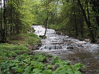 Bélapátfalva District - Image: Fátyol vízesés