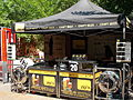 FőzőFeszt 2015. Artisan Beer Festival. Beer stand. - Budapest, City Park. Olof Palme promenade.JPG