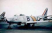 F-86F 2 Sqn SAAF in Japan 1953