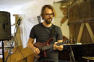 Alex Machacek Austrian jazz fusion guitarist
