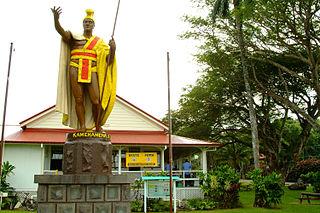 <i>Kamehameha</i> statue (original cast)