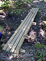 FLT M13 15.0 mi - Bridge, 12' long, 4 4x4s on 4x4 sills, 4' to drainage - panoramio.jpg