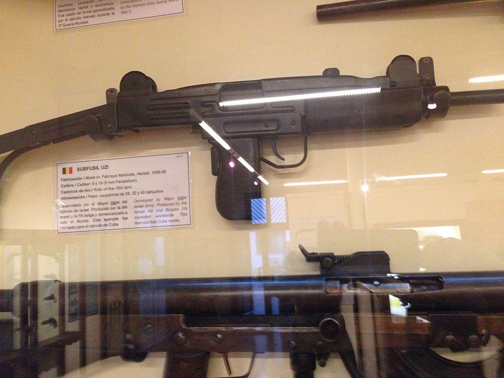 File:FN Uzi from Cuba jpg - Wikimedia Commons