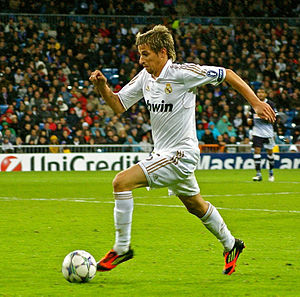 Fábio Coentrão - Coentrão in action for Real Madrid in the 2011–12 UEFA Champions League