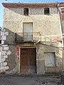 Fachada donde se encuentra la placa del terremoto de 1644 Lorcha.jpg