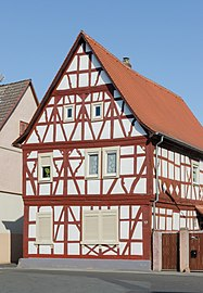 Half-timbered house - Mörfelden - Mörfelden-Walldorf - 01.jpg
