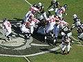 Falcons on offense at Atlanta at Oakland 11-2-08 05.JPG