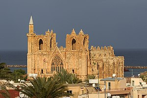Famagusta - Lala Mustafa Pasha Mosque