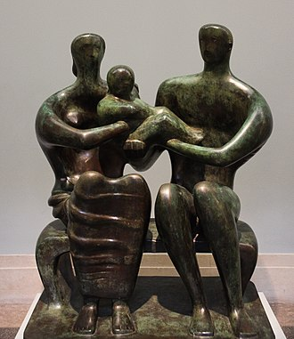 Family Group (Moore) - Family Group, LH 269, Tate Gallery
