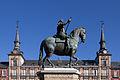 Felipe III - Casa de la Panadería - Plaza Mayor de Madrid - 04.jpg
