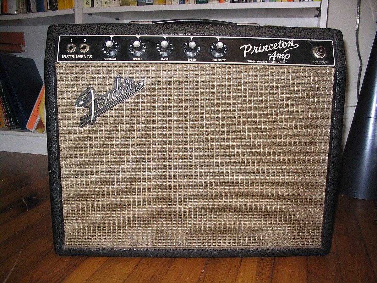 Fender Princeton - Wikipedia on