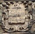 Fenton coat of arms at Fenton Town Hall - geograph.org.uk - 333055.jpg