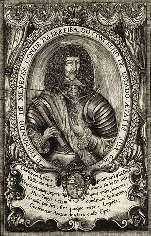 Fernando de Meneses, 2nd Count of Ericeira - Image: Fernando de Menezes, conde da Ericeira