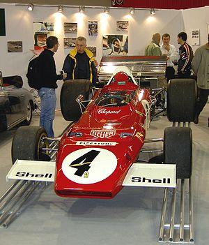 Jacky Ickx - Jacky Ickx's Ferrari 312B2 (1971/72)