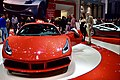 Ferrari 488 GTB at Geneva International Motor Show 2015 (Ank Kumar, Infosys) 09.jpg
