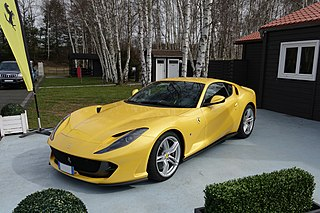 Grand Tourer produced by Ferrari as a successor to the F12berlinetta