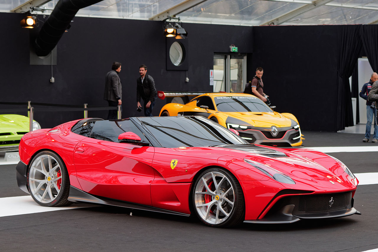 File:Festival automobile international 2015 - Ferrari F12 ...