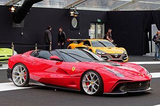 Ferrari F12 - F12 TRS at the 2015 Festival automobile international