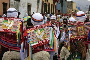 Qhapaq Qulla - Festive costume of Qhapaq Qulla dancers