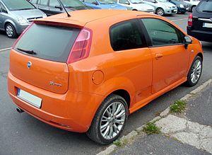 Fiat Grande Punto - Fiat Punto 3-door hatchback