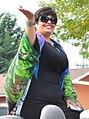 Fiestas Patrias Parade, South Park, Seattle, 2017 - 006 - Grand Marshall Judge Veronica Alicea-Galván (cropped).jpg
