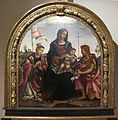 Filippino lippi, madonna col bambino tra i santi stefano e giovanni battista, 1503, da sala dell'udienza di pal. del comune, 01.JPG